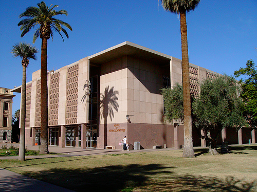 Arizona looking to do sale/leasebacks on some state buildings to raise fast cash.