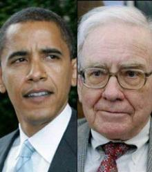Ancestry.com accidentally discovers that President Obama and Warren Buffett are distant cousins.