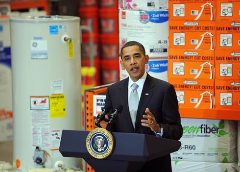 "Stimulus bill's ""Cash for Appliances"" seeks to replace old washers and fridges with energy-efficient models."