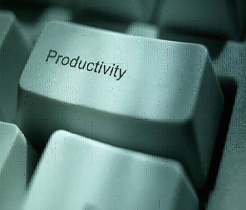 Employee productivity is at an eight-year high