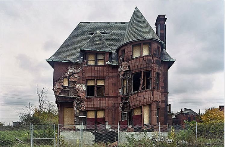 Philanthropic dollars are helping to shrink Detroit to half its current size in an effort to save the city.