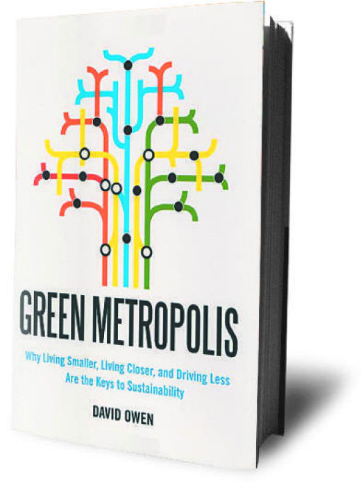 Author David Owen thinks that New York is the nation's greenest city.