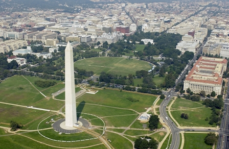 Washington, D.C.'s 10.4 percent office vacancy rate is far below the 17.3 percent national average.