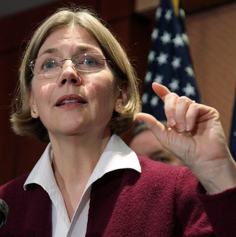 Elizabeth Warren to be our new consumer protection czar.